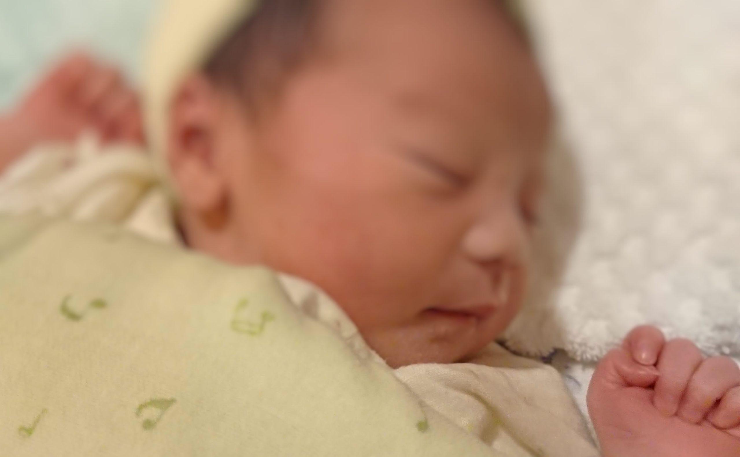 乳児の睡眠