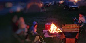 子どもとキャンプで焚き火