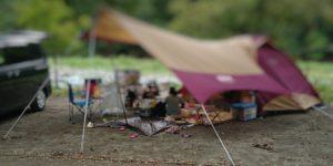 青野原オートキャンプ場のサイト区画