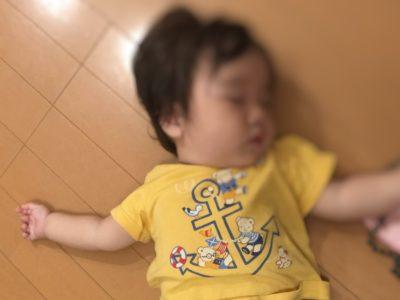 11ヶ月赤ちゃんが睡眠中