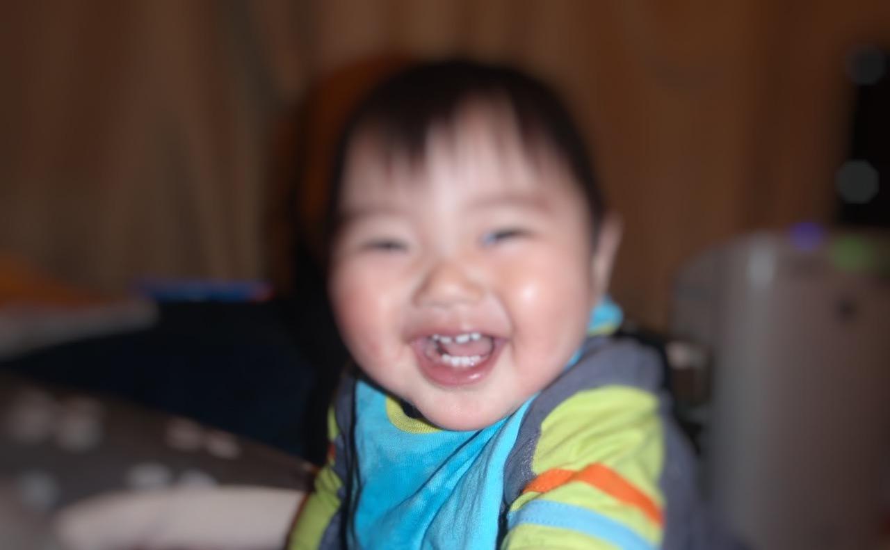 歯ぎしりが始まった赤ちゃん