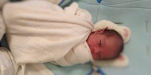 新生児ギャン泣き後のおひなまき